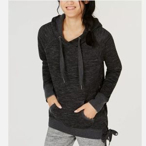 Calvin Klein Performance women Lace Up Side Hoodie